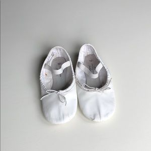 ABT | White Leather Ballet Slippers | 10.5